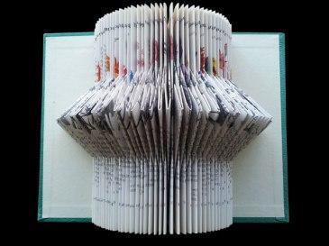 Untitled title 2012 Jo Howe Book sculpture Book arts paper