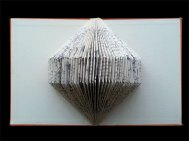 Untitled title 2012 Jo Howe Book sculpture Book arts paper