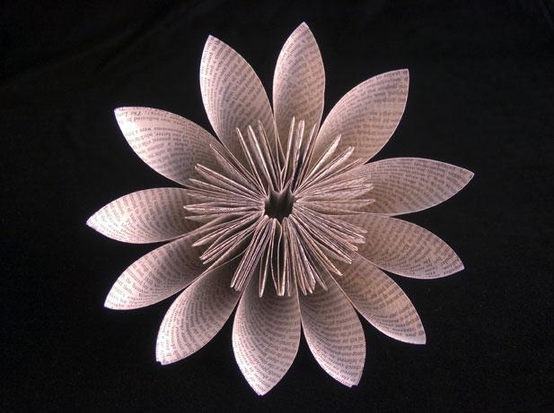 Kusudama-Flower Jo Howe Book Sculpture
