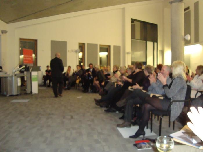ECA Collection launch party Jo Howe Book Sculpture