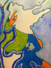 Water / pen sketch Jo Howe