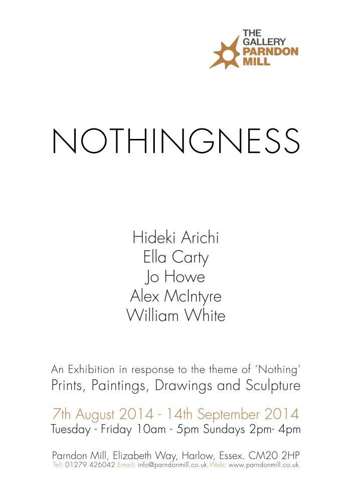 Nothingness poster final