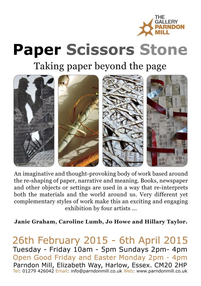 PaperScissorsStone-Jo Howe book art