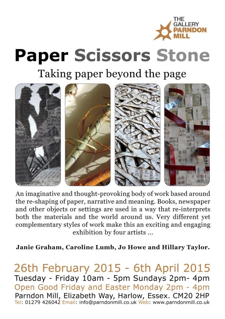 PaperScissorsStone-Jo Howe book art