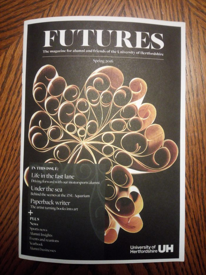 Futures magazine cover