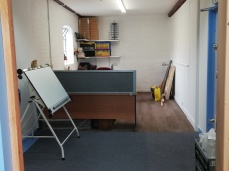 Studio - finishing area